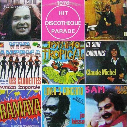 1976 HIT DISCOTHEQUE PARADE DISCO LP. PLAK