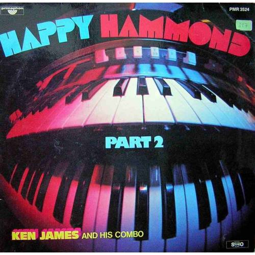 KEN JAMES AND HIS COMBO HAPPY HAMMOND PART 2 LP. PLAK