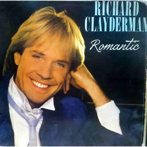 RICHARD CLAYDERMAN ROMANTIC 1986 LP. PLAK