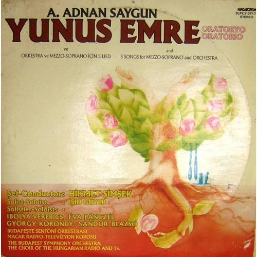 A.ADNAN SAYGUN  YUNUS EMRE ORATORYOSU DOUBLE LP. PLAK