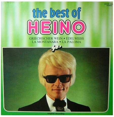 HEINO THE BEST OF LP. PLAK