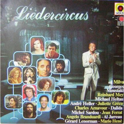 LIEDERCIRCUS KARMA POP LP. PLAK
