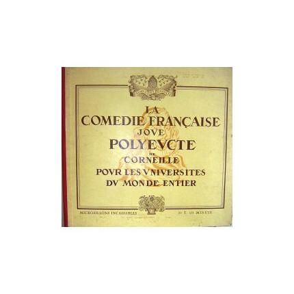 LA COMEDIE FRANÇAISE JOVE POLYEVCTE DOUBLE MİNİ LP. PLAK