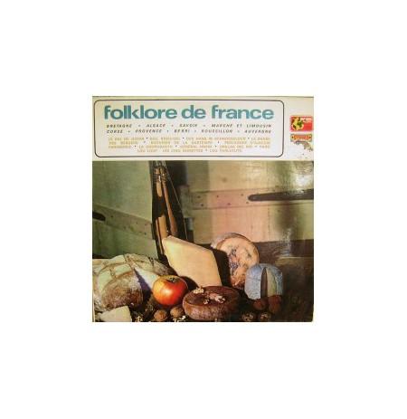 FOLKLORE DE FRANCE LP. PLAK