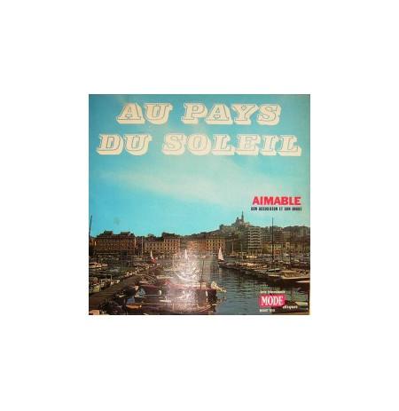 AU PAYS DU SOLEIL 1973 FRANSIZCA ENTRÜMENTAL LP.