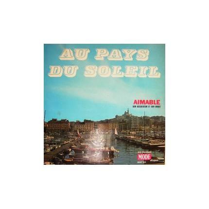 FRANSIZCA ENTRÜMENTAL LP. - AU PAYS DU SOLEIL PLAK